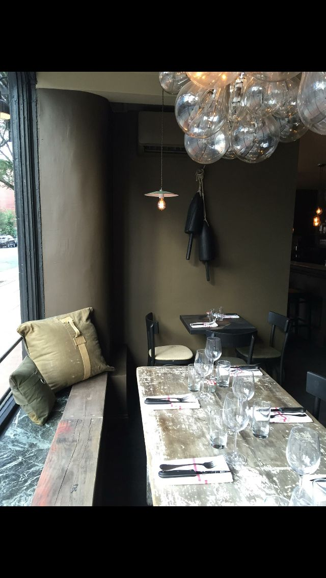 Gloo French Restaurant 78 Carmine Street Nyc