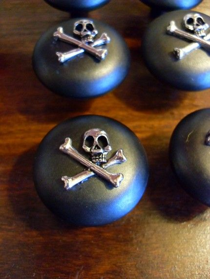 Pirate Drawer Pulls Knobs Skull And Crossbones Cabinet