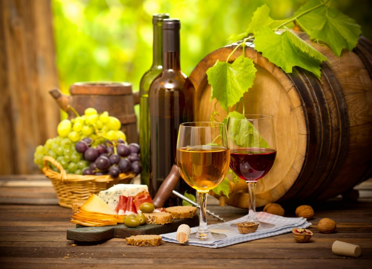 Смешные класс, картинки с виноградом и вином