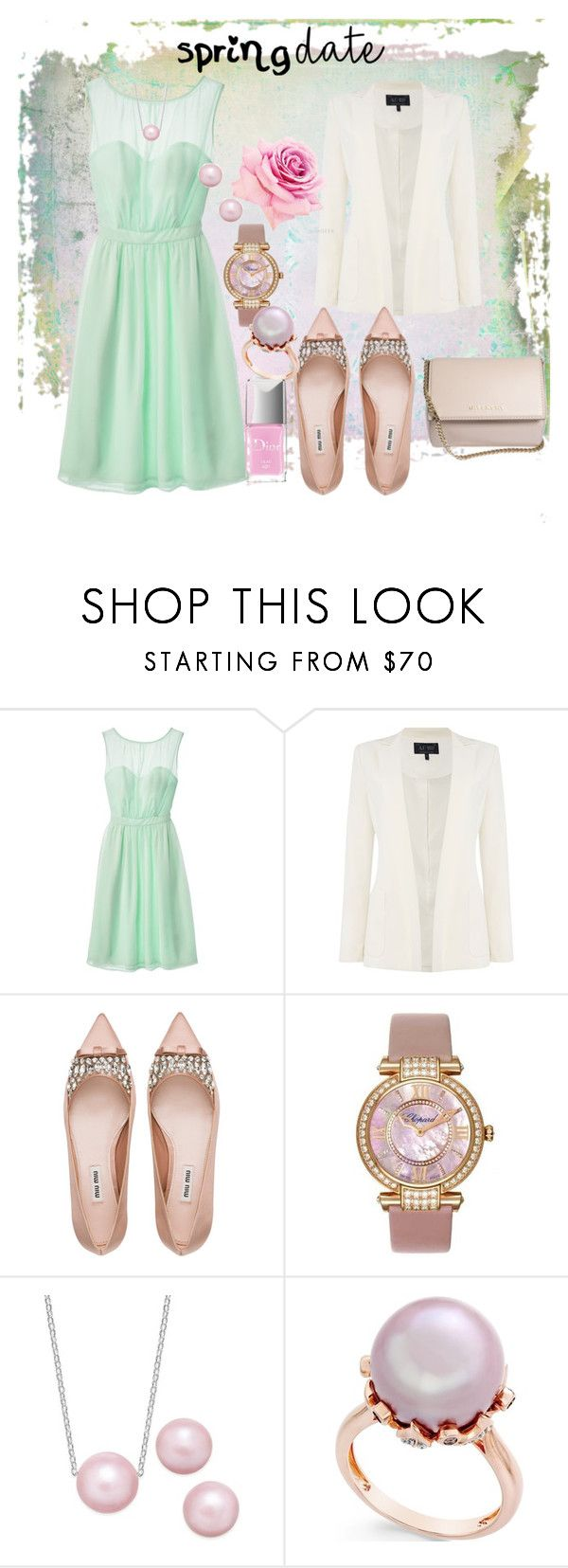 """""""Hey there"""" by emeraldz ❤ liked on Polyvore featuring Tevolio, Armani Jeans, Miu Miu, Chopard and Givenchy"""