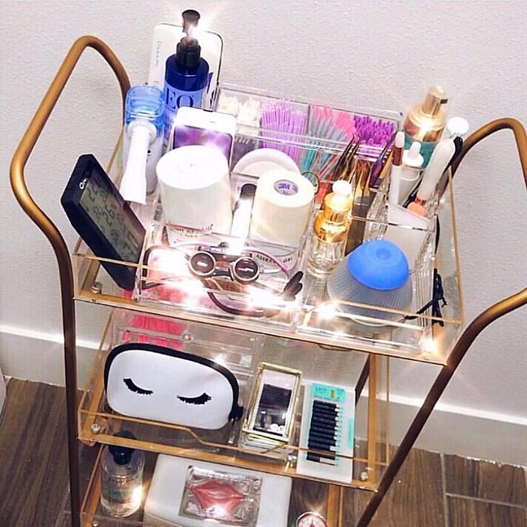 "Lash Land💕 on Instagram ""Loving this Lash Cart 💕 by"