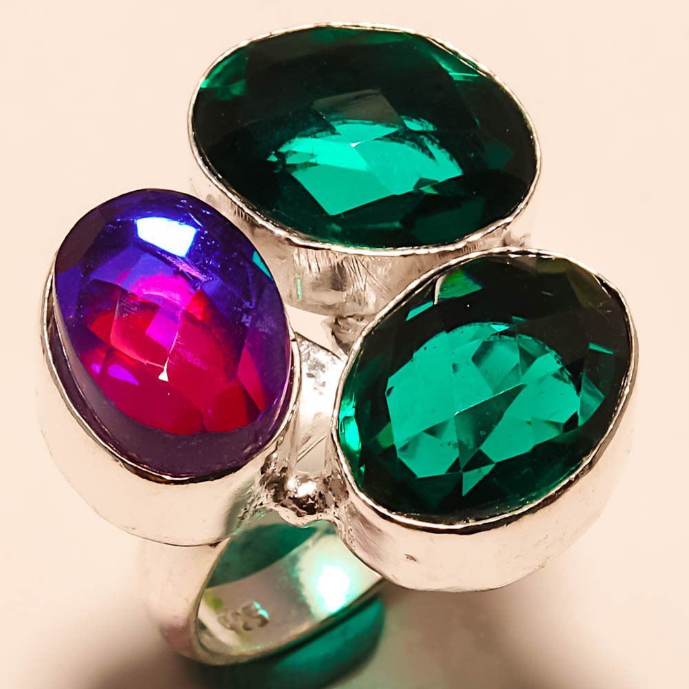 mystic product stone topaz black store img opal gemstone with rings rainbow that