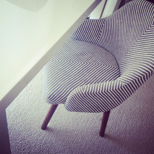 West Elm Desk Chair In Chevron #style