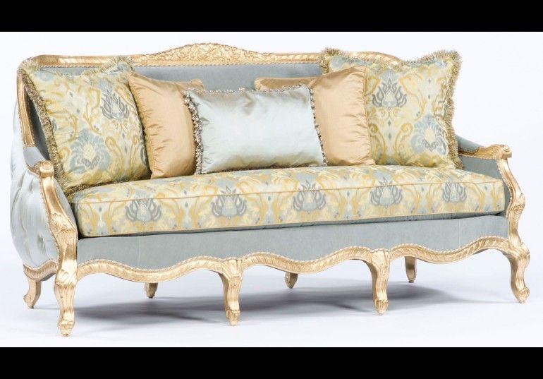 French Style Sofa Tufted Luxury Furniture 301 Luxury Furniture