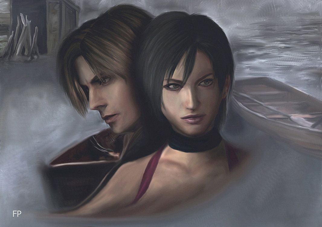 Resident Evil 4 Ada And Leon By Phlegmaticperson On Deviantart