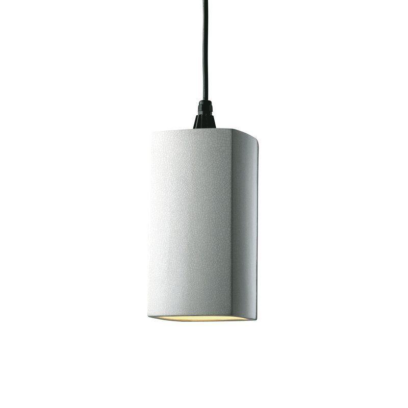 Redden 1 Light Square Rectangle Pendant Pendant Lighting Light