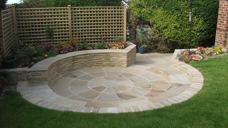 Landscape Garden Design in Bexhill | Medium Size Garden ... on Medium Sized Backyard Ideas id=68595