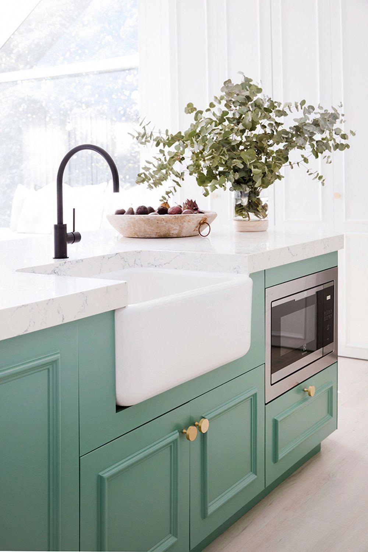 Eucalyptus Green Cocinasviejas Kitchen Design Green Kitchen Three Birds Renovations