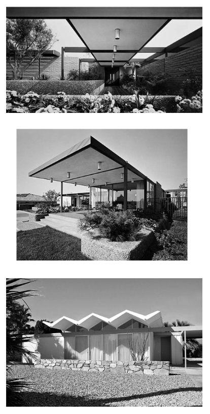 PALM SPRINGS: DONALD WEXLER ARCHITECT