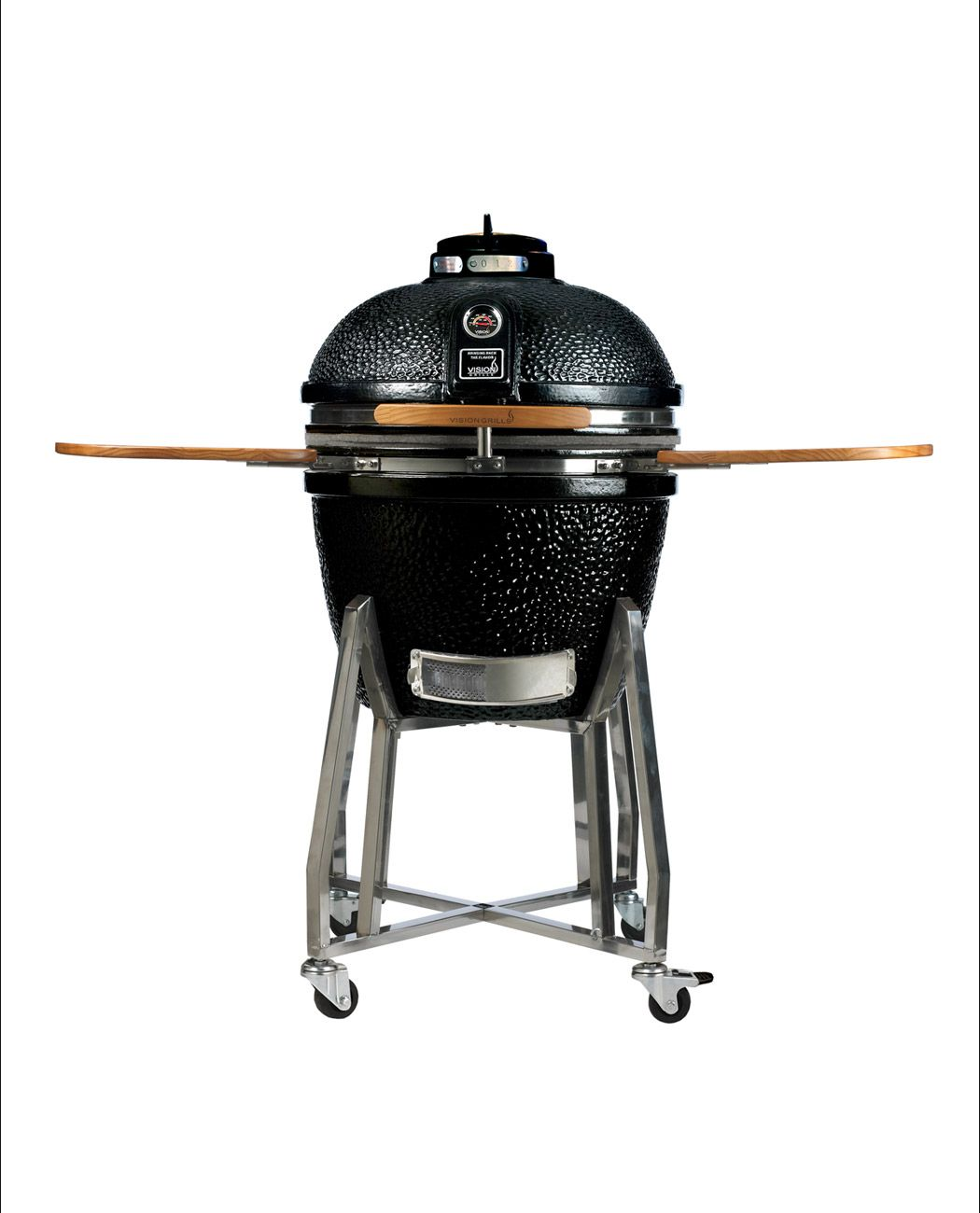 Heavy Duty 1 Series Kamado Grills Vision Grills Ceramic Grill Barbecue Design Kamado Grill