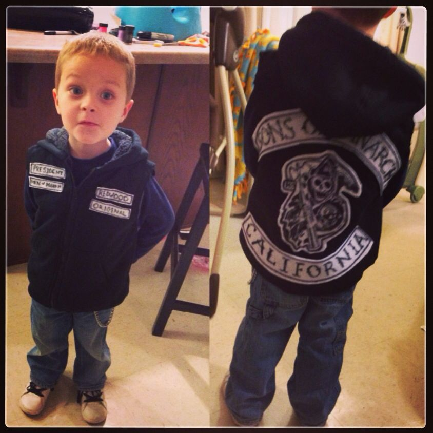 Homemade Sons Of Anarchy Jax Teller Costume Definitely Going To Be A  sc 1 st  Cartoonview.co & samcro halloween costume | Cartoonview.co