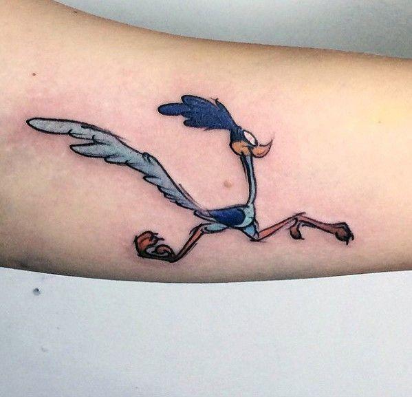 60 Looney Tunes Tattoos For Men Animated Cartoon Ink Ideas Tattoos For Guys Runner Tattoo Running Tattoo