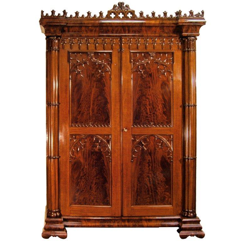Gothic Armoire Gothic Furniture Antique Furniture Gothic