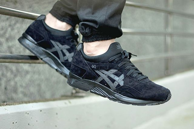 asics tiger gel lyte v black
