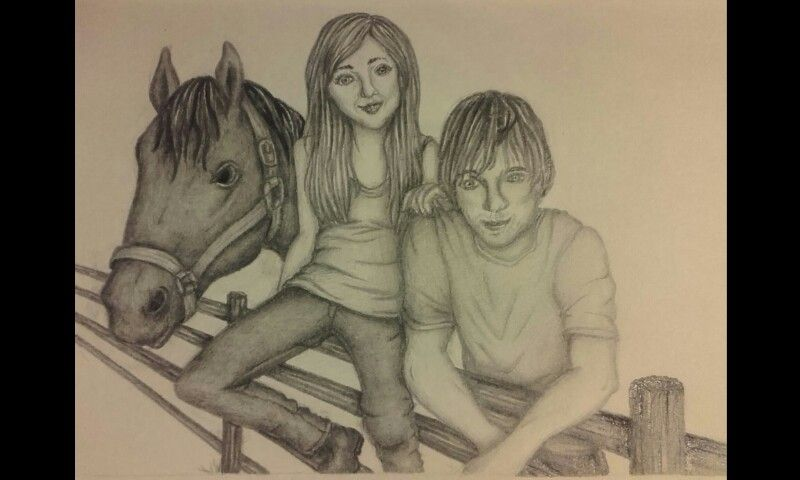 Heartland Portrait Amy Amber Marshall Fleming And Ty Borden Graham Wardle Heartland Heartland Quotes Ty Borden