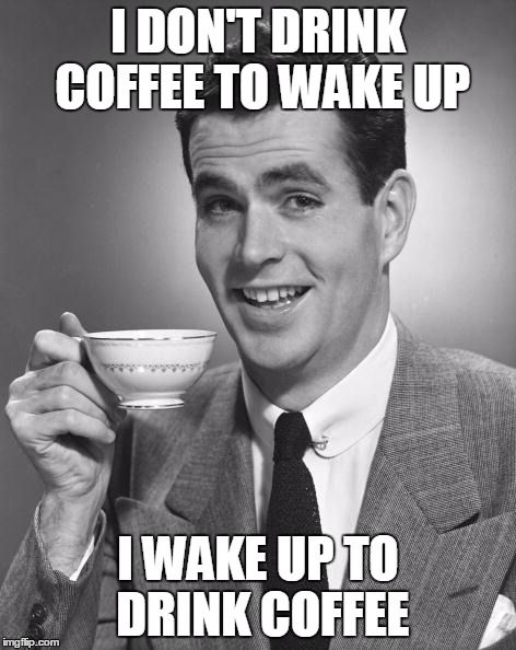 Coffee Drinking Memes Quotesmeme Meme