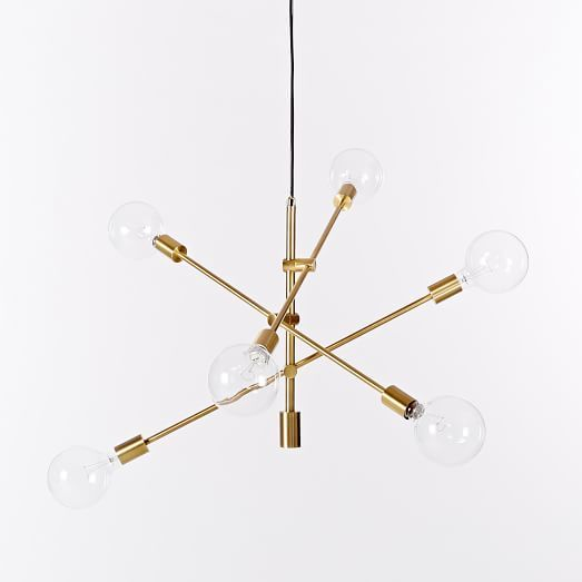 Mobile Chandelier Large Antique Brass Mobile Chandelier Contemporary Ceiling Light Modern Hanging Lamp