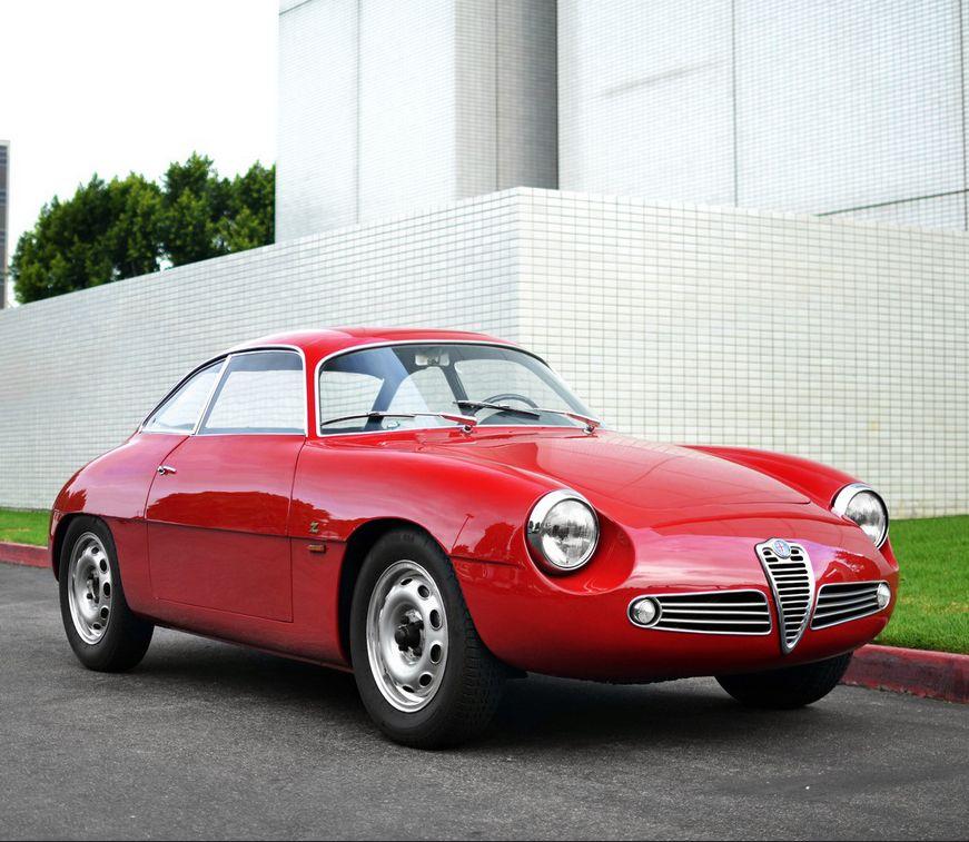 Alfa Romeo Giulietta SZ Sprint Zagato.