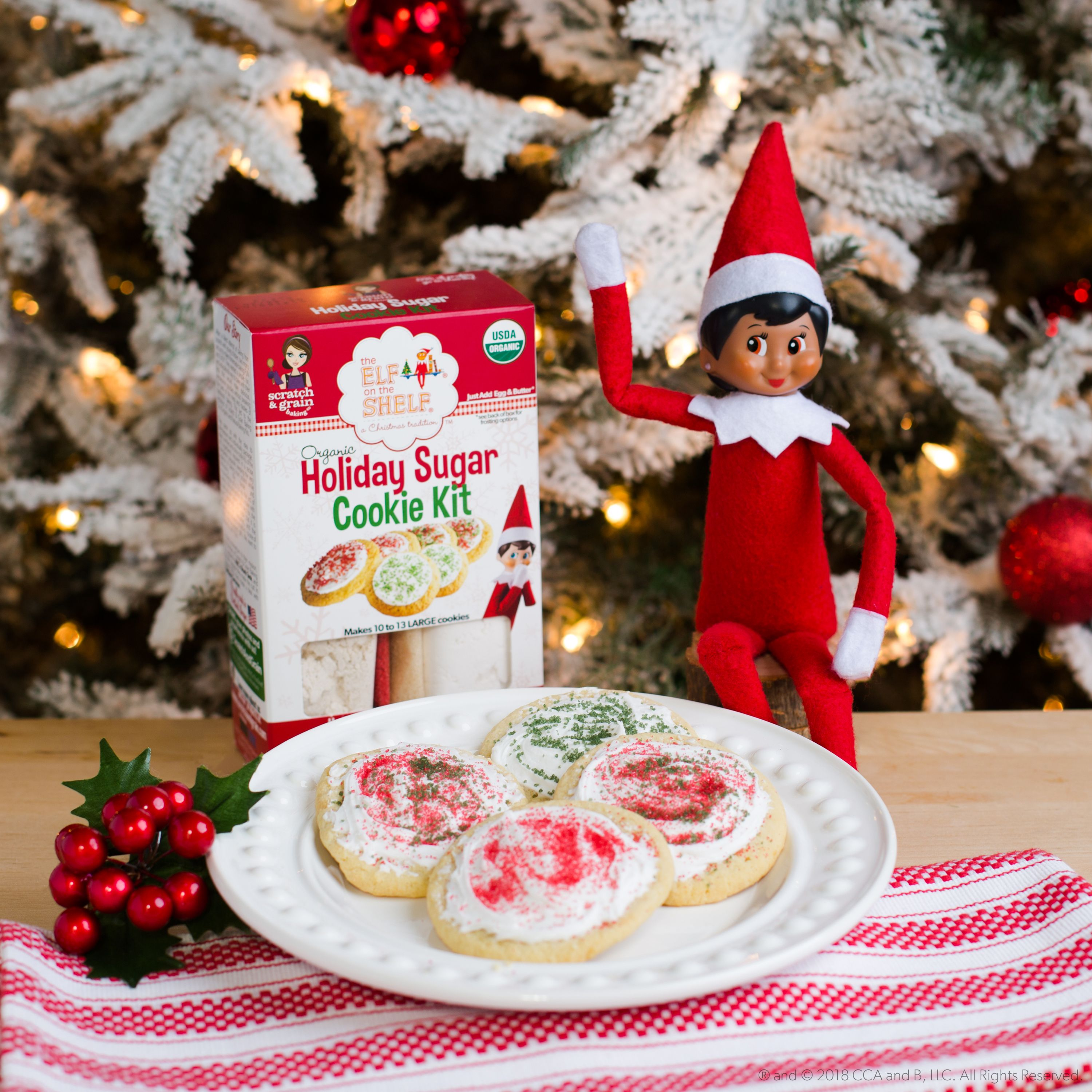 You And Your Elf Can Find Cookie Kits At Walmart