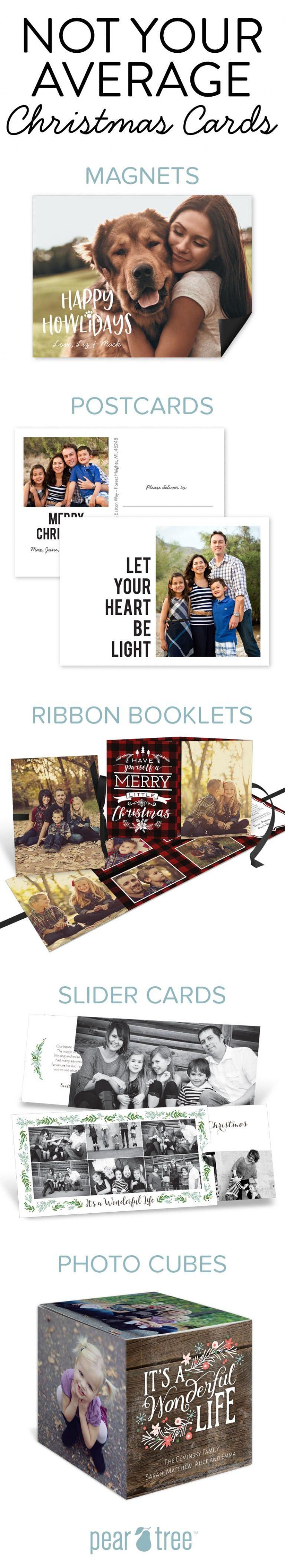 Photo of Nicht Ihre durchschnittlichen Weihnachtskarten   Birnenbaum