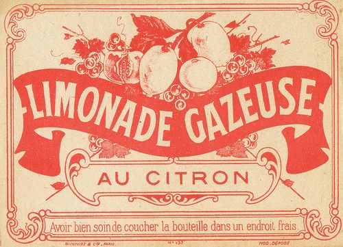 citron label
