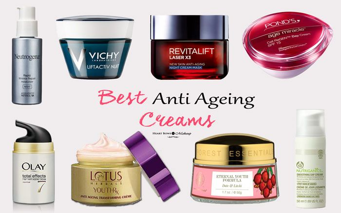 Best Anti Ageing Cream In India For Dry Oily Skin Our Top 8 Heart Bows Makeup Top 10 Anti Aging Creams Anti Aging Skin Products Best Anti Aging Creams