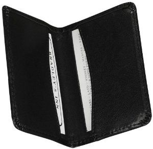 Samsill Regal Leather Business Card Wallet Holds 25 Cards Of 4 0