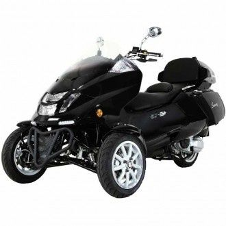 Trike Gas Motor Scooters 300cc 3 Wheels Moped #trikescooter