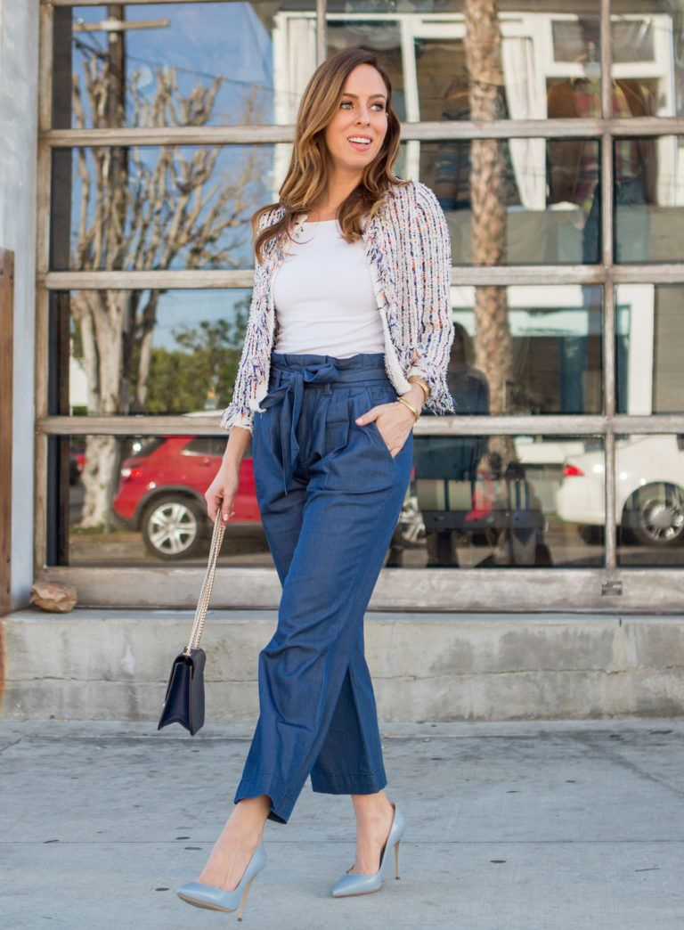 How to Wear Paperbag Waist Pants | My Style | Summer pants