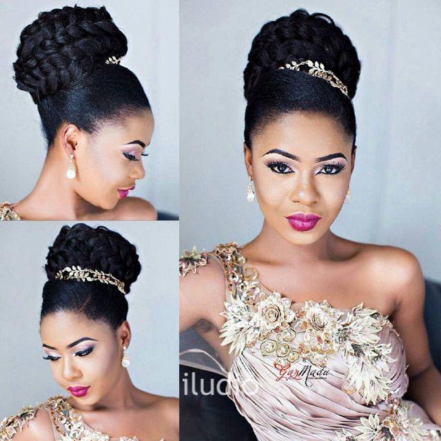 Beauty Iludio Natural Hair Wedding Natural Wedding Hairstyles Natural Hair Bride