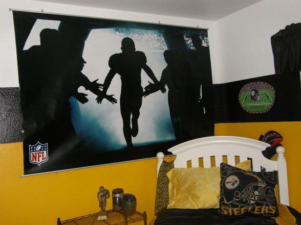 Steelers Bedroom Ideas awesome steelers bedroom | boys room ideas | pinterest