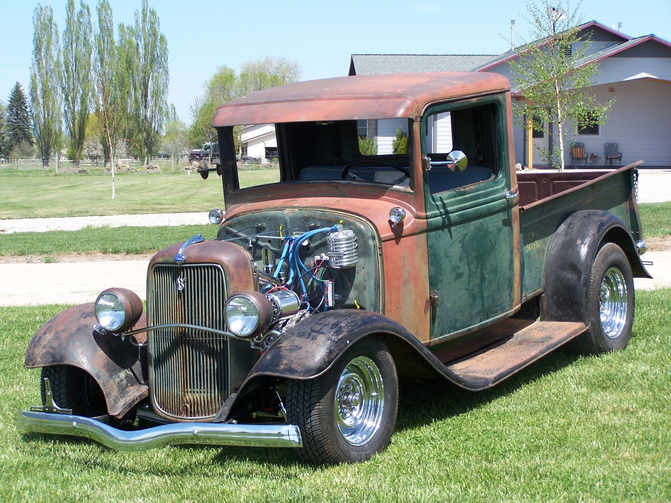 Old Hot Rods | Show-winning homebuilt 1934 Hotrod Ford Pickup ...