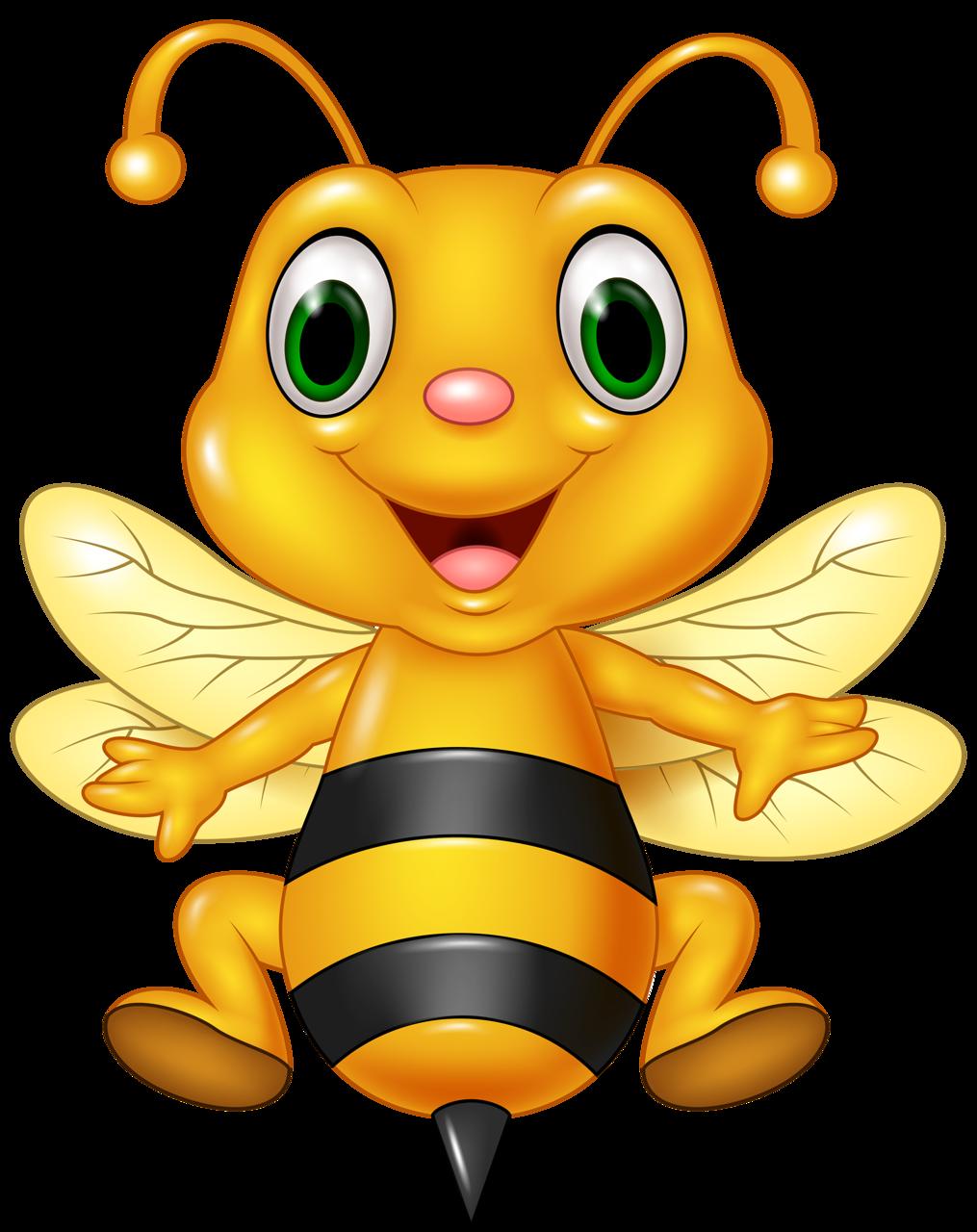 Смешные, пчела картинки для детей нарисованные