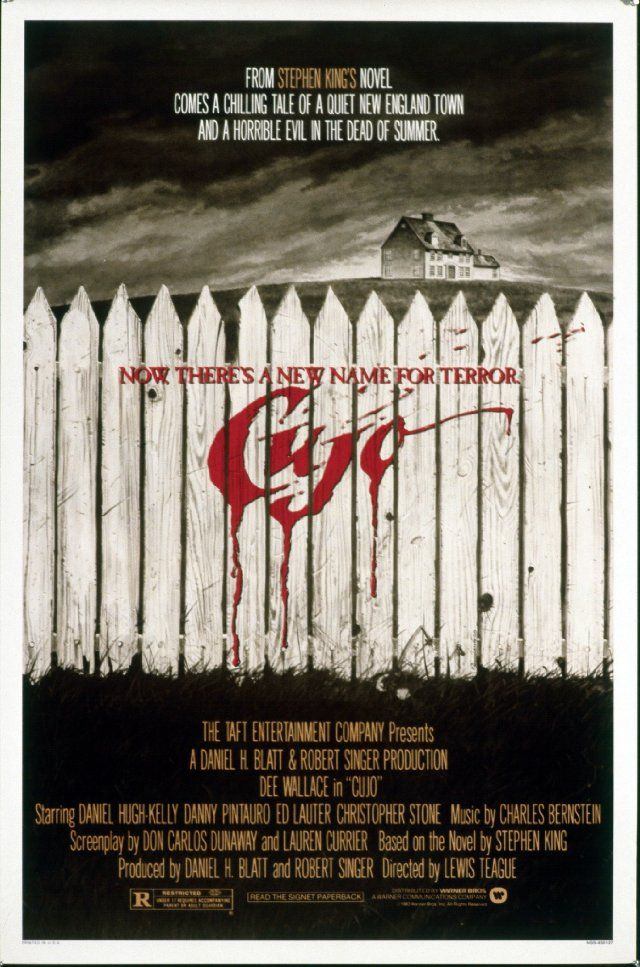 Cujo (1983) - Loved this movie!  So intense, I was a little kid when I saw it!