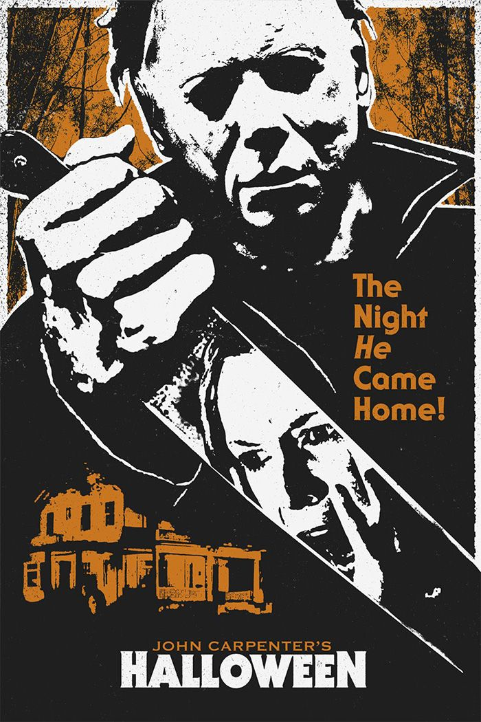 Halloween by Justin Bryant - Home of the Alternative Movie Poster -AMP-