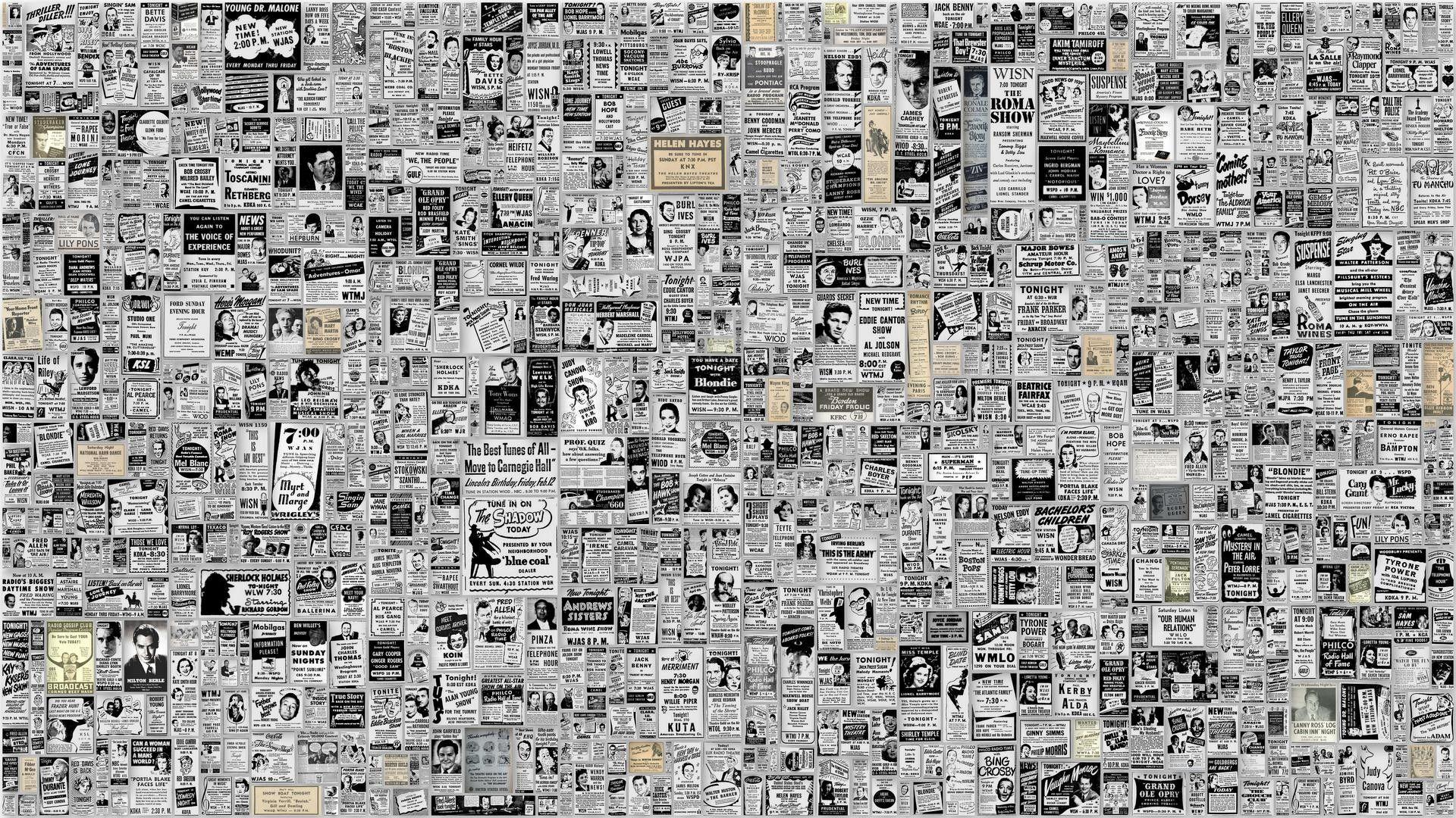 Resultat D Imatges De Vintage Paper Collages Ideas Newspaper Wallpaper Newspaper Background Wallpaper