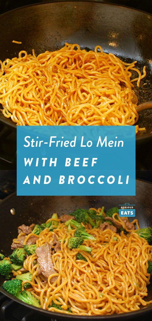 Stir-Fried Lo Mein With Beef and Broccoli #beefandbroccoli