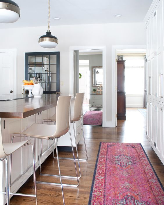 20 Sophisticated Ways To Style A Pink Rug | Decorating ...