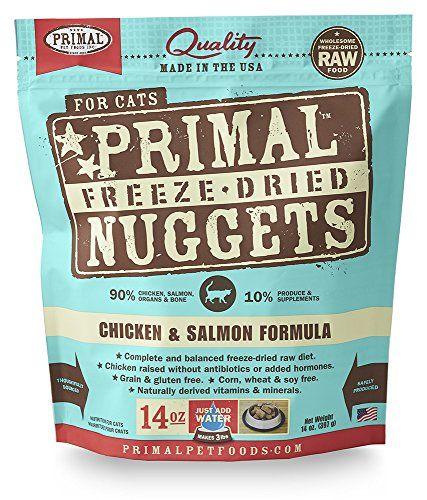 Primal Pet Foods Freeze-Dried Feline Chicken and Salmon Formula, 14oz. - http://petsboutique.org/primal-pet-foods-freeze-dried-feline-chicken-salmon-formula-14oz/