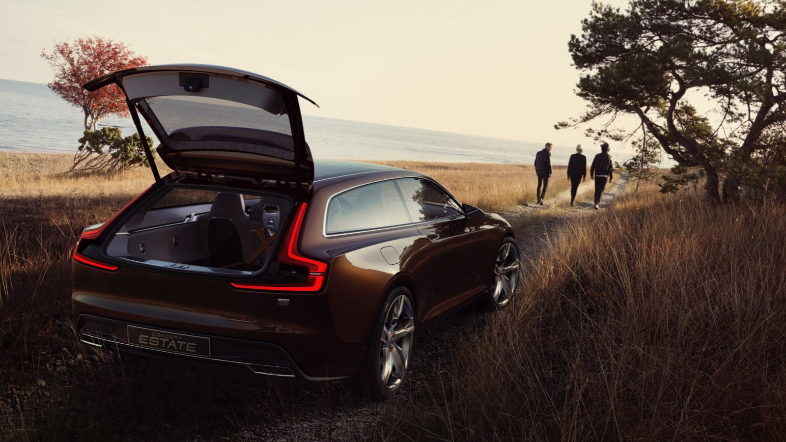 The Volvo Concept Estate Is An Unfathomably Gorgeous Shooting Brake Volvo Volvo Estate Volvo Cars