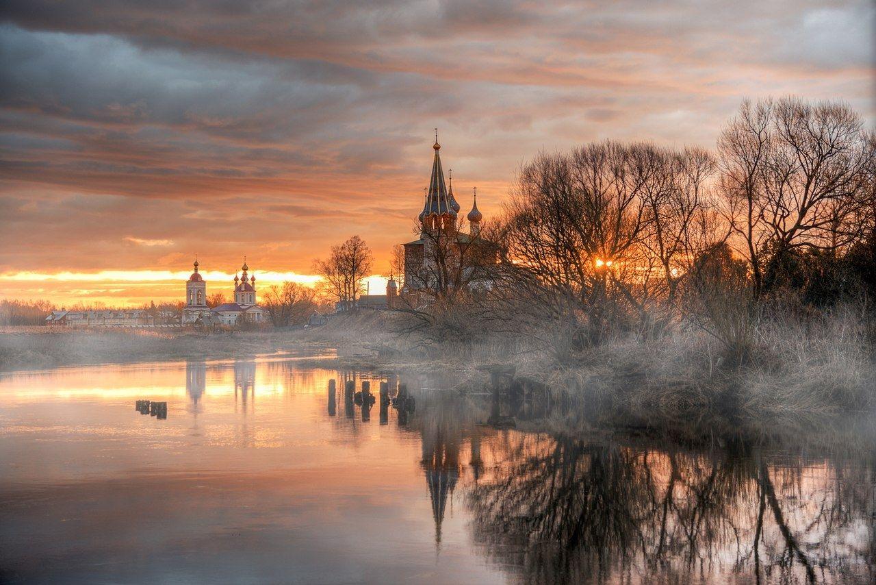 красивые пейзажи россии фото течение