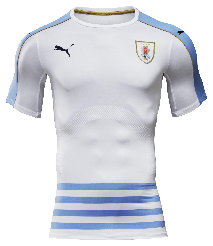 Uruguay 2016 Puma Away. Team ShirtsFootball ...
