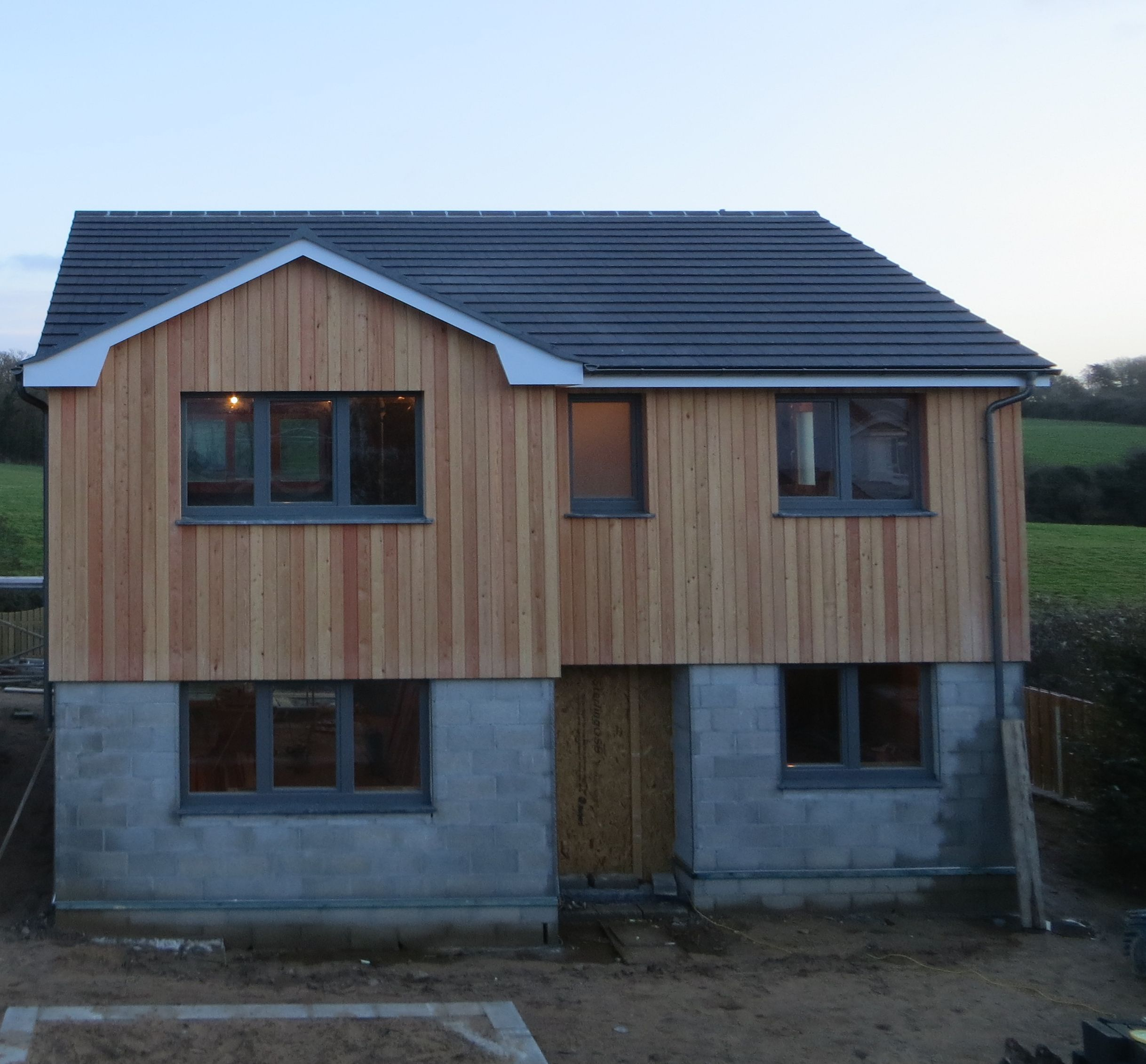Siberian Larch Cladding househustalo Larch