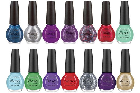 This Picture Inspires Me To Create My Own Nail Polish Line Will Consist Of Really Bright Colors Glitter And Other Y Stuff