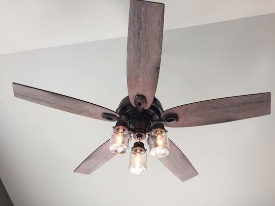 Hunter crown canyon 52 in indoor regal bronze ceiling fan ceiling hunter crown canyon 52 in indoor regal bronze ceiling fan 53331 at the home depot aloadofball Image collections