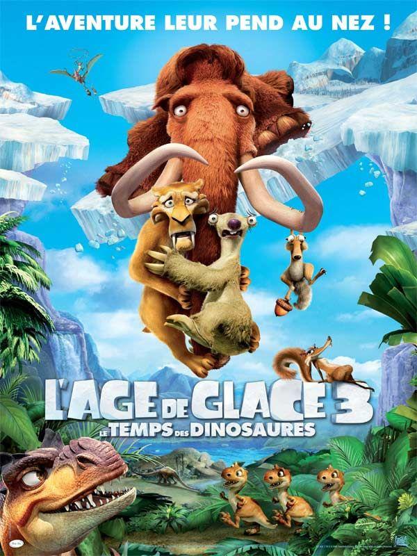 L Age De Glace 3 Le Temps Des Dinosaures 2009 Caros Saldanha Mike Thurmeier Ice Age Dinosaur Movie Adventure Trailers