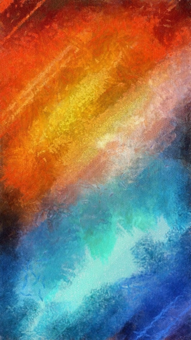 Orange Blue Retina Wallpaper Abstract Wallpaper Abstract Artwork