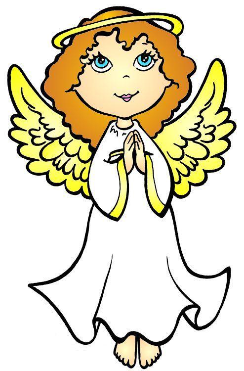 Cartoon Angel Page 2 Weihnachtsmalvorlagen Engel Zeichnung Weihnachtsfarben