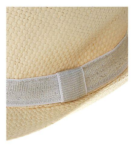 BILLIE BLUSH - Straw hat 6-10 years | Selfridges.com