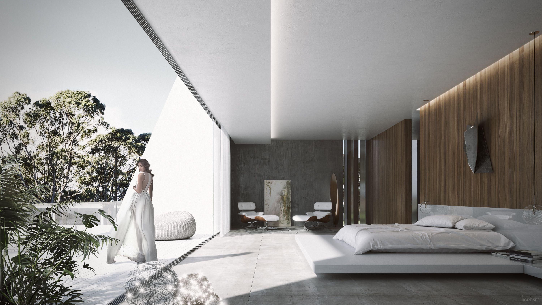 Doha villa qatar master bedrom architecture design contemporary modern creato project architect villa luxury masterbedroom interior bedroom